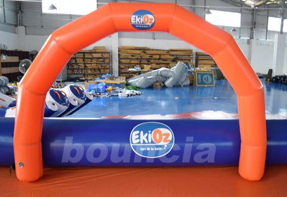 Bubble Football Arena , Sport Arena For Inflatable Bumper Ball With PVC Tarpaulin