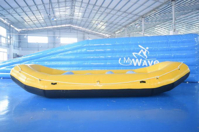 0.9mm PVC Tarpaulin Inflatable Rafting Boat For Sale