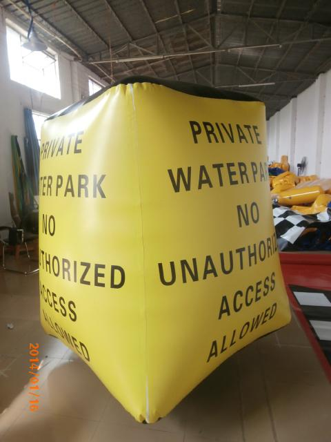Inflatable Temple / Inflatable Water Tubes With Customized Printing