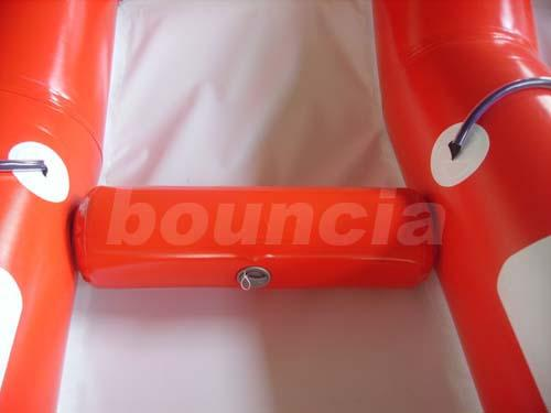 3.9m Width Red Color Inflatable Towable Fly Fish For Commercial Use