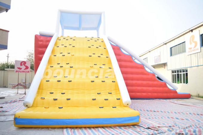 Durable Inflatable Water Sport Game / Inflatable Climbing Tower For Sale