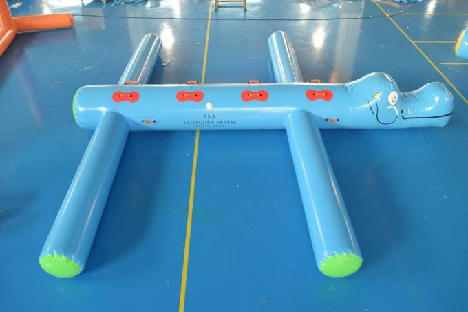 0.9mm (40oz) PVC Tarpaulin Inflatable Water Obstacle Course For Pool