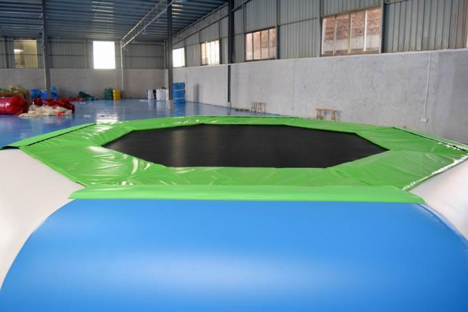 Water Trampoline Combo Inflatable Water Trampoline With