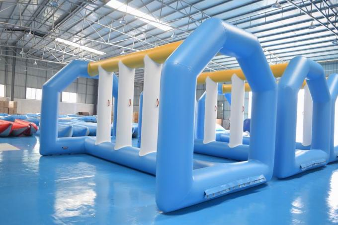 Giant Inflatable Water Toys Game / Inflatable Outdoor Water Theme Park Manufacturer