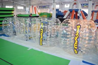 China Adult Sized TPU Inflatable Bumper Ball For Bubble Football Court factory
