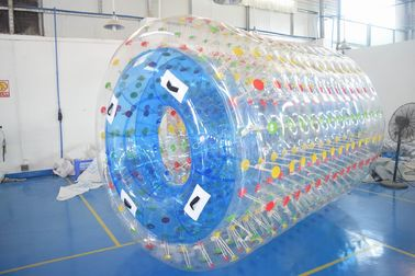 China 2.8m Long Water Roller Ball , Inflatable Roller For Lake Or Swimming Pool factory