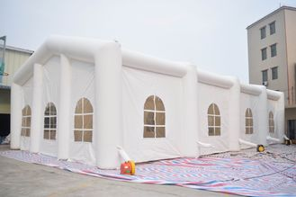 China White Color 6m High Inflatable Tent,  Inflatable Wedding Tent factory