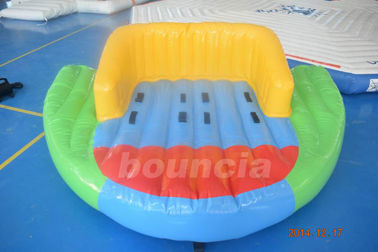 China 0.9mm PVC Tarpaulin Inflatable Towable Boat For Lake factory
