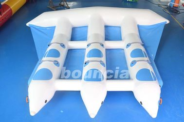 3 Tubes Towable Inflatable Flying Fish Tube For Yatch