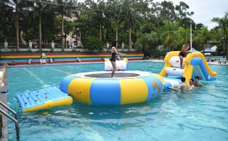 China Mini Inflatable Floating Water Park Equipment For Swimming Pool factory