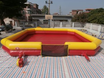 China Inflatable Bumper Ball Court / Bumper Ball Field For Sale factory