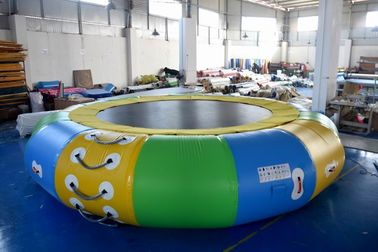 China Commercial Grade Cheap Inflatable Water Trampoline With EN15649 factory