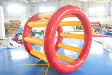 China PVC Tarpaulin Inflatable Hamster Wheel For Outdoor Water Activity factory
