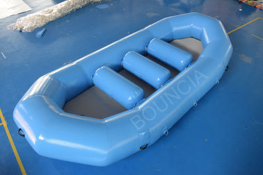 Inflatable White Water Rafting Boats With Detachable Drop Stitch Floor