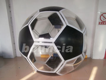 Soccer Shape Inflatable Water Walking Ball Made Of TPU Material