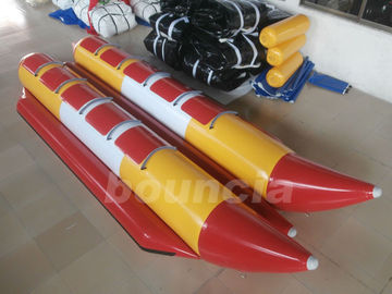 China Commercial Grade 10 Person Inflatable Banana Boat Used In Lake factory