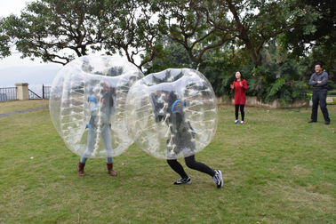 China 0.7mm TPU Human Bubble Ball / Inflatable Bumper Ball For Outdoor Activity factory