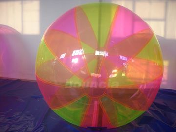 China Colorful Inflatable Water Ball , Inflatable Water Bubble For Water Games factory