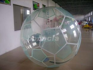 China Inflatable Soccer Water Walking Ball , Water Walking Ball  Used In Lake Or Pool factory
