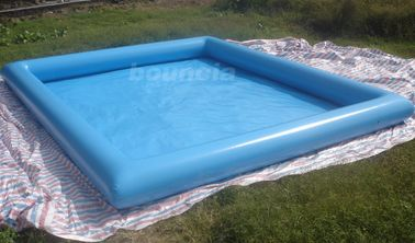 China 10mL*8mW*0.65mH Outdoor Inflatabel Water Pool With PVC Tarpaulin factory