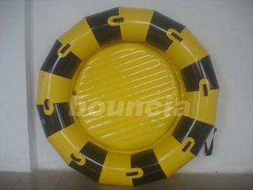 China Round Inflatable Towable Banana Boat / Inflatable Towable Boat Used In Lake Or Sea factory