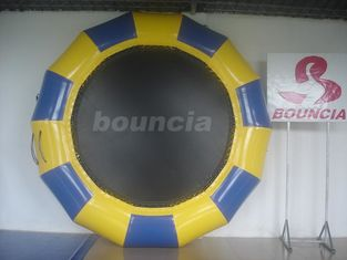 China Professional Made Fabric Inflatable Water Trampoline for Water Park factory