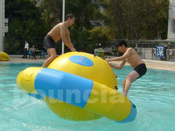 China Kids And Adults Inflatable Saturn Rocker Used In Hotel Or Pool factory