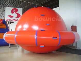 China Commercial Grade PVC Tarpaulin Inflatable Saturn Rocker For Water Park Games factory