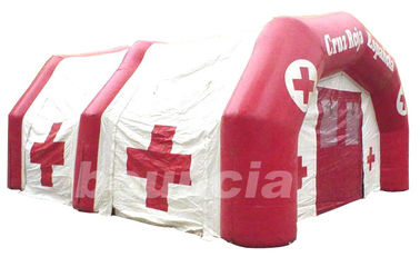 China Inflatable Airtight Medical Tent TEN64 with Durable Anchor Rings factory