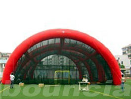 China 0.4mm PVC Tarpaulin Inflatable Paintball Arena / Inflatable Paintball Field factory
