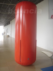 2.5m High Red Color Inflatable Tube / Inflatable Buoy For Advertising