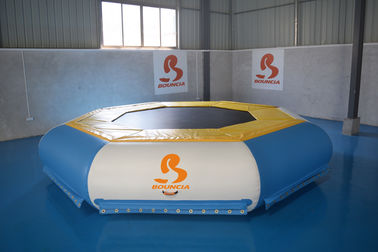 TUV Certificate Inflatable Floating Water Trampoline For Lake