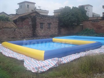 China Water Walking Ball Inflatable Water Pool With 0.9mm PVC Tarpaulin factory