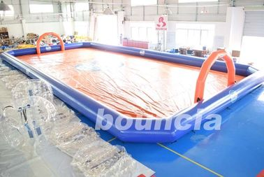China Bubble Football Arena / Sport Arena For Inflatable Bumper Ball factory