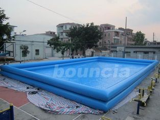 China Double Layer Giant Outdoor Inflatable Water Pool For Commercial Use factory