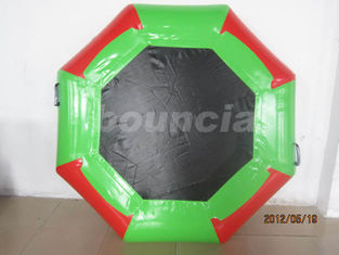 China Samll Size Inflatable Water Trampoline For Seaside factory