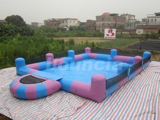 China Water Walking Ball Inflatable Water Pool With Platform factory
