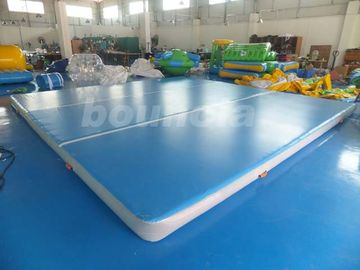 China Good Airtightness Inflatable Air Tumble Track / Inflatable Gym Mats factory