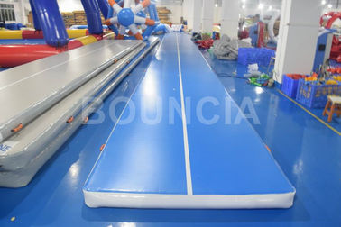 China Tumble Track Inflatable Air Mat / Gymnastics Air Track For Physical Training factory