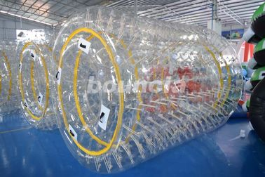 China 0.8mm/1.0mm PVC Material Transparent Inflatable Water Roller factory