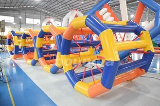 China Colorful Inflatable Water Roller Wheel for Water Park factory
