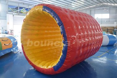 China Giant Colorful Durable Inflatable Water Roller For Rental Business factory