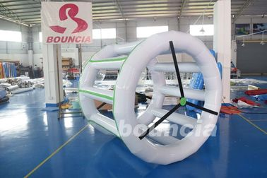 China 0.9mm PVC Tarpaulin Inflatable Water Roller For Amusement Park factory