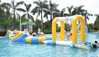 China Durable Inflatable Water Sports / Water Park Games For Pool  With TUV Certification company