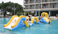 Durable Inflatable Water Sports / Water Park Games For Pool  With TUV Certification supplier