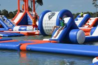 250 People Giant Inflatable Water Park Games, TUV Certificate Inflatable Wipeout Course supplier
