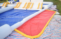 Kids And Adults Inflatable Water Park EN15649 Standard 0.9 Mm Pvc Tarpaulin supplier