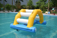 Inflatable Floating Water Park / Inflatable Water Sport Games For Pool supplier