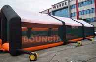 210D PVC Coated Nylon Inflatable Paintball Tent / Paintball Arena With Air Blowers supplier