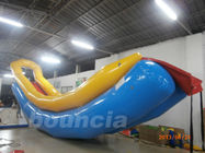 Durable PVC Tarpaulin Long Inflatable Water Slide For Seaside supplier